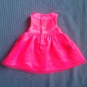 Carter's Dresses - Carter's Hot Pink Gown
