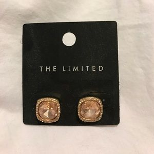 Rose Gold Earrings from The Limited