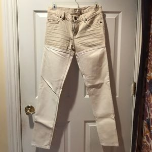 BCBG Denim/pleather jeans size 25