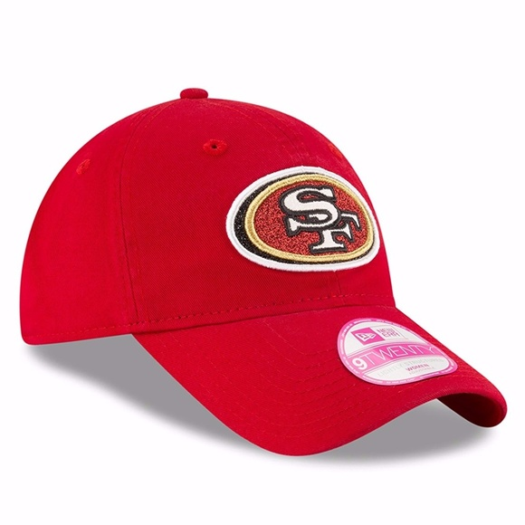 on sale 15d84 88d1b ... ireland san francisco 49ers womens glisten 9twenty hat e75df 105b5