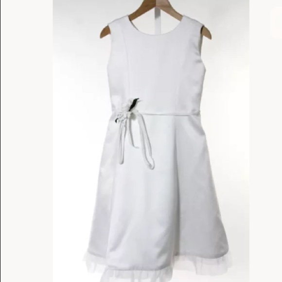 La Regale Other - FENAROLI FOR REGALIA WHITE A LINE DRESS SIZE 12