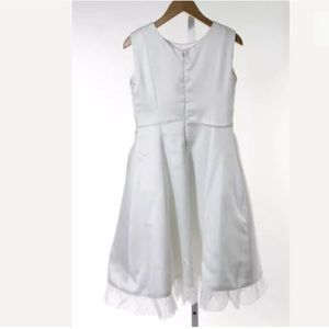 La Regale Dresses - FENAROLI FOR REGALIA WHITE A LINE DRESS SIZE 12