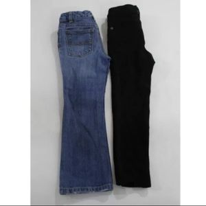7 For All Mankind Bottoms - 7 FOR ALL MANKIND & RALPH LAUREN JEANS SZ 4/6
