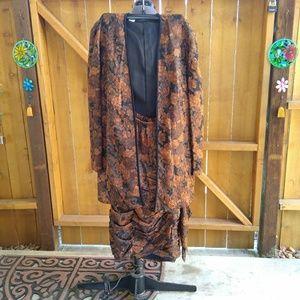 Debora Kochme - Vintage Silk Skirt Suit