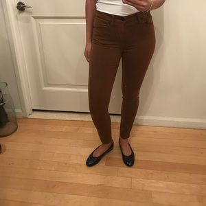 MADEWELL BROWN JEANS