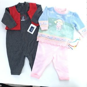 2 Newborn girl set