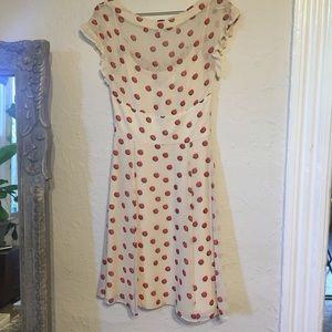 Temperley London Dresses - Temperley London red dot silk dress 4