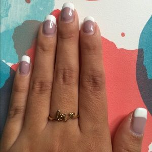 Jewelry - Reversible Gold Ring - love & sparkles