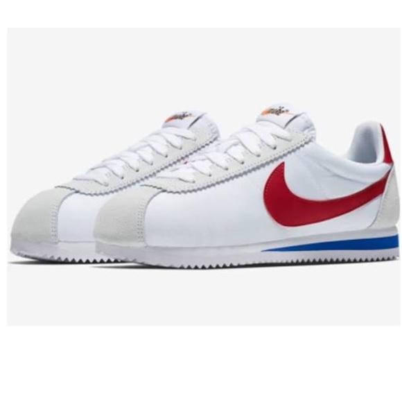 Nike Chaussures 2017 Cortez Rouge Blanc Bleu Forrest Gump Poshmark