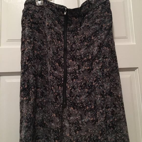 BCBGeneration Dresses & Skirts - BCBGGeneration Long / Mini Floral Skirt - Sz 12