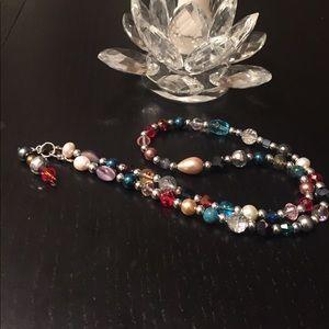 Jewelry - Multicolor Swarovski crystal Necklace