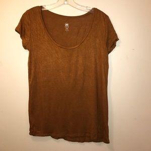Tops - Brown tshirt