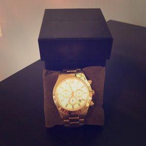 Michael Kors Gold Watch MK 8191
