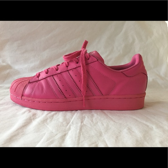 promo code 4356d 85007 adidas Other - Adidas Pharrell Williams Superstar Pink Sneakers