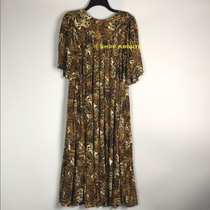 9014034d9ac Go Softly Dresses - Go Softly Crinkle Rayon Animal Print Patio Dress