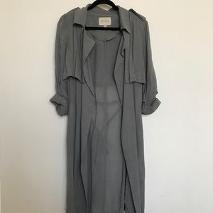 MOON RIVER Lightweight Duster Trench