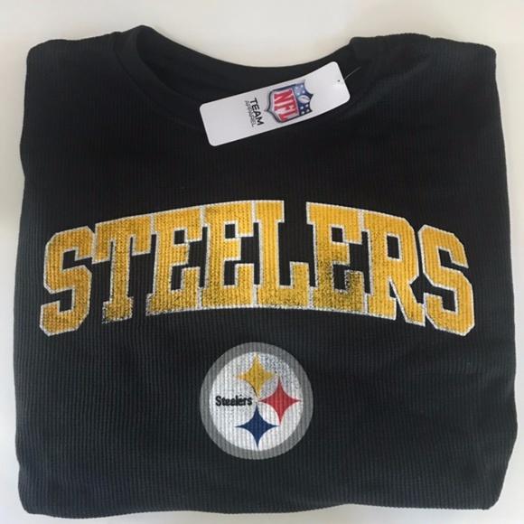 Pittsburgh Steelers Big   Tall Thermal LS Tee 3fcbe4c99