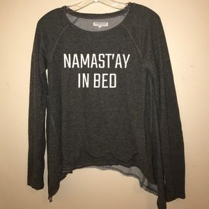 Jackets & Blazers - Namast'ay in bed sweater