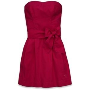 NWT Abercrombie & Fitch Strapless Pink Dress
