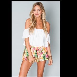 Show me your mumu tutti frutti Carlos swing shorts