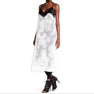 NWT Free people love all day maxi slip dress XS