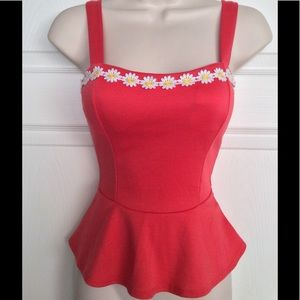 Tops - Daisy Peplum Top