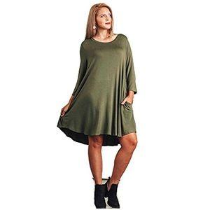 8f2cae7df08 Umgee Dresses - 🔴FINAL SALE 🔴 Umgee T shirt Dress w side pockets
