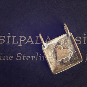 Silpada Sterling Silver Heart Pendant