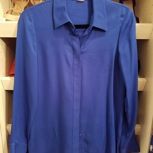 NEW Vince silk blouse size 6