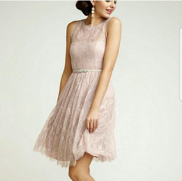 Anthropologie Dresses | Bhldn Hitherto Celia Lace Dress Size 4 225 ...