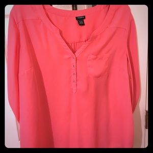 Hot Pink Torrid Blouse