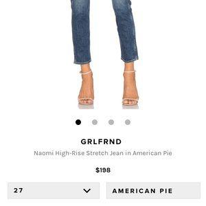 GRLFRND Jeans - Cult-fave GRLFND Naomi Jeans