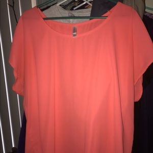 Tops - Orange blouse