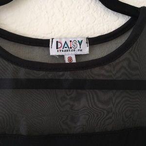 e57b9bba200 ASOS Dresses - Daisy Street T-Shirt Dress with Sheer Insert