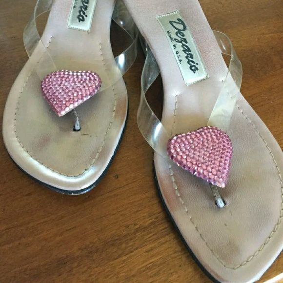 86d9d5f7936 Dezario Shoes - Dezario Women s Pink Heart Sandals Size 6B