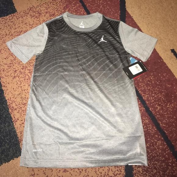 7e1d0ec07 Jordan Shirts & Tops   Boys Nike Shirt Youth Medium Large Nwt   Poshmark
