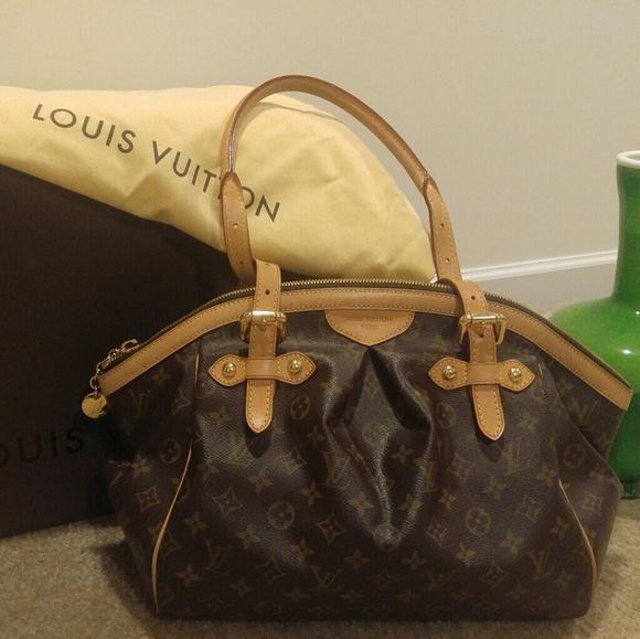 17b02c2fda1 Louis Vuitton Handbags - Authentic Louis Vuitton Tivoli GM w box   dustbag