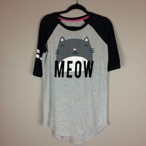 Joe Boxer Cat MEOW sleepshirt