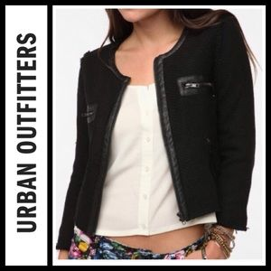 Urban Outfitters Bycorpus Boxy tweed jacket NWT