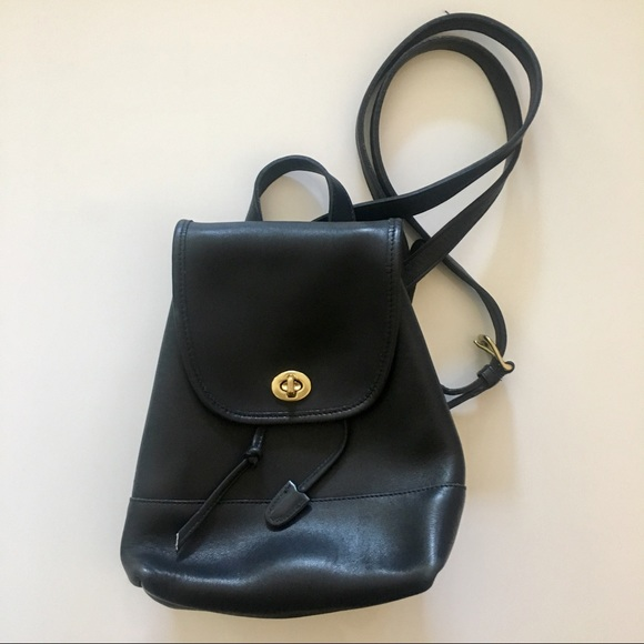 Coach Handbags - VINTAGE COACH leather backpack. Style  9960 9f88300150