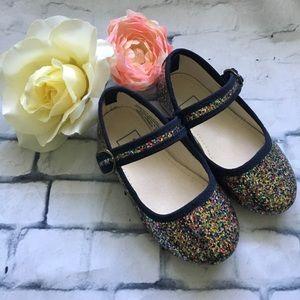 Toddler Glitter Buckle MaryJane Shoes *HP 1/26*