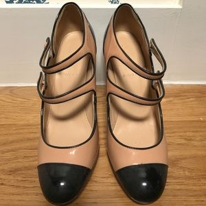 J. Crew patent leather Mary Jane shoes
