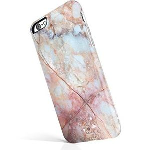 Akna iPhone 6 Plus Pink Marbled Protective Case