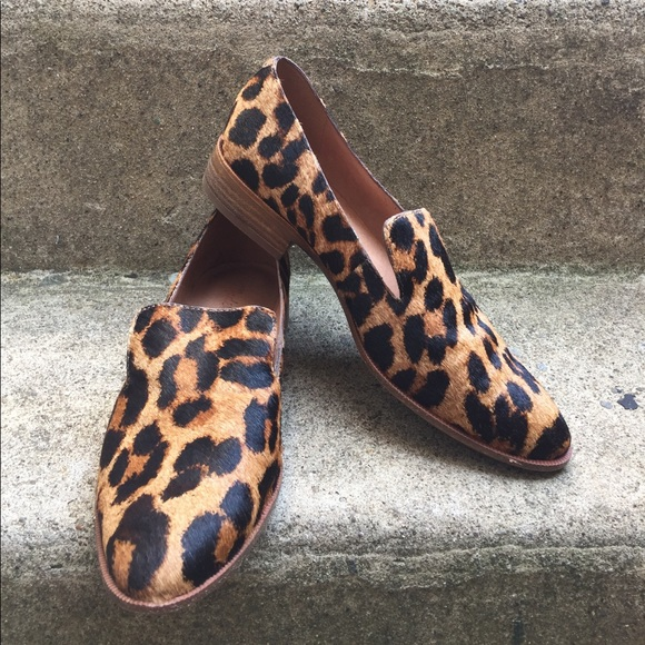 ad44af53335 Madewell Shoes - Madewell Orson Leopard Loafers