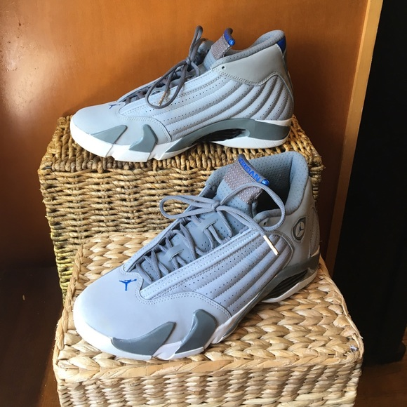 a2ace9bfed9a2e Nike Air Jordan 14 Retro Sport Blue size 9. M 597f5ef3713fdeffa8104da4
