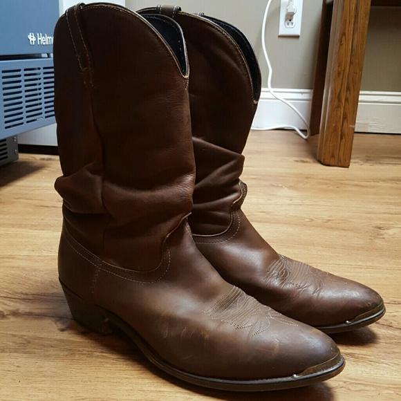 718950afa9d9f Vintage cowboy boots 90's