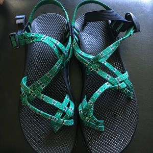 b9c3f8cc985b Chaco Shoes - CHACO - Women s ZX2 Classic in Eclipse Green.