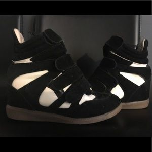 Wedge Sneaker Heels Size 6.5
