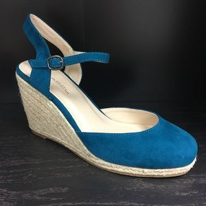 Shoes - Real espadrille wedge