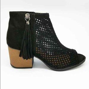 Shoes - Vivi Peep Toe Bootie